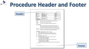 Free Sop Free Standard Operating Procedure Template Word 24 Best Letter 24