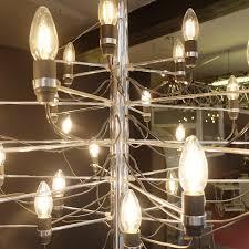 chandelier gino sarfatti by arteluce edition 297 30 1958