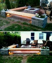 interior diy outdoor seating ideas drop gorgeous bench seat stone