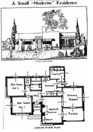 Triangle House by KWK Promes   L PLAN   Triangle House Plan         s small modernist house   floor plan and front elevation