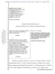 Williams V. Roberto Cavalli - Amended Complaint Copyright Graffiti ...
