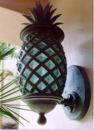 tropical outdoor lighting. is your outdoor light boring welcome guests with this tropical pineapple sconce lighting l