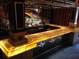 home bar design backlit onyx countertops ideas basement remodel ideas