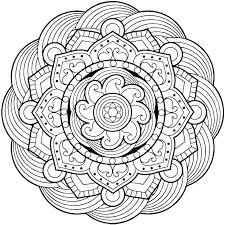 Color Mandala Coloring Pages Free Mandalas Coloring Pages Color