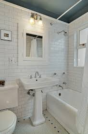 Seattle Bathroom Remodeling Simple Subway Tile Hex Tile Abound In This Vintage Bathroom Of A Restored
