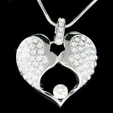 baby husband wife necklace