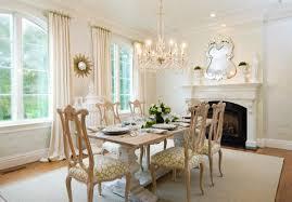 whitewashed dining table