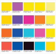 Rgb To Pms Color Conversion Chart Sample Pms Color Chart 7 Examples Format