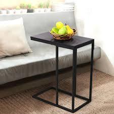 armchair tray sofa side end table modern portable ottoman white wooden armchair tray