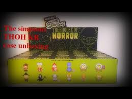 Amazoncom The Simpsons Treehouse Of Horror Series II Figures Simpsons Treehouse Of Horror Kidrobot