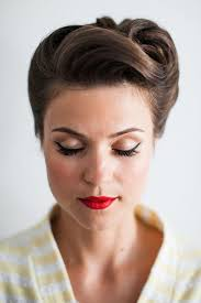 retro wedding hair makeup