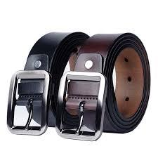 Newest men's belts genuine leather belt for men | Shopee Philippines