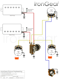 humbucker wiring diagrams wiring get image about wiring description irongear pickups wiring on 2 humbucker 1 volume 1 tone wiring wiring diagrams dimarzio