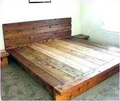 Wood King Headboard Wooden King Headboard King Wood Bed Frame ...