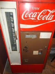 Soda Bottle Vending Machine Interesting 48's48's Coca Cola Soda Vintage Original Soda Bottle Vending