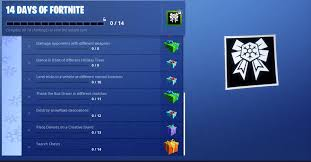 14 Days Of Fortnite Challenges And How To Complete Them