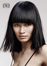 Hairstyles With Blunt Fringe Hairstyles Picture Blunt Bangs For Medium Hair Haircut March