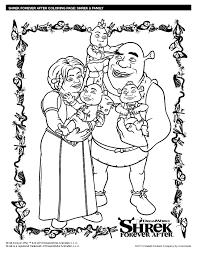 Coloriage Shrek Les Beaux Dessins De Dessin Anim Imprimer Et