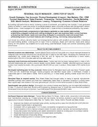 Area Sales Manager Resume Sample 224989 Impressive Regional Sales