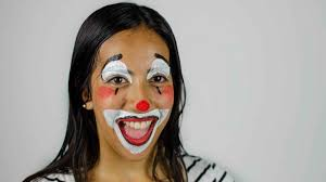 Girl Clown Face Designs How To Face Paint A Clown With Pictures Wikihow