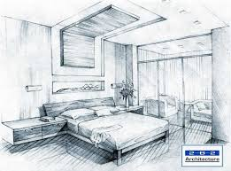 simple architecture design drawing.  Design Simple Bedroom Sketch Design Sketches Bedroom For Architecture Drawing O
