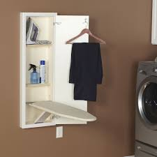 In-Wall Ironing Board Cabinet with Built In Ironing Board