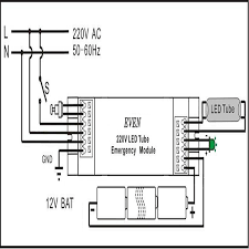 wiring diagram emergency fluorescent lights wiring t8 t12 led tube 15w smd3014 144 100 277vac 4 foot emergency module on wiring diagram