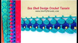 Seashell Design Seashell Design Crochet Tassels Most Awaited Tutorial Festival