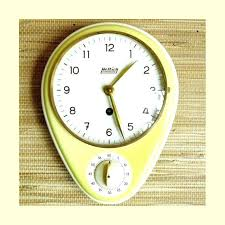 vintage kitchen timer vintage kitchen timer kitchen clock egg timer porcelain clock max bill wind up