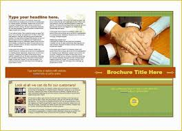Microsoft Office Brochure Template Free Download Brochure Templates Free Download Of 31 Free Brochure