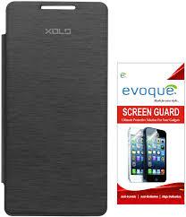 Evoque Flip Cover for XOLO A500S Lite