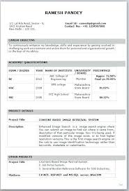 B Pharmacy Resume Format For Freshers - Resume Template Easy - Http ...