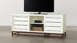 white media console furniture. Clapboard White 60\ Media Console Furniture Crate And Barrel