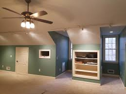 raleigh bonus and attic room painting