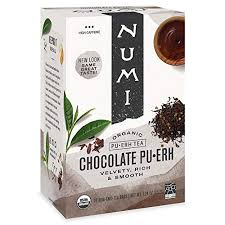 Numi <b>Organic Tea Chocolate Pu</b>-<b>erh</b>, 16 Co- Buy Online in ...