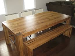 Reclaimed Oak Dining Table Hand Made Reclaimed White Oak Dining Tbale And Bench By Greenwood