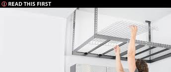 New Age Ceiling Storage Rack Beauteous Versarac Overhead Rack Versarack Garage Storage NewAge Products US