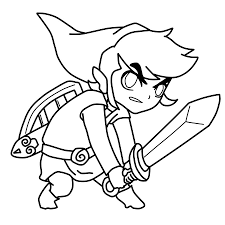 toon link coloring pages. Fine Coloring Toon Link Coloring Pages 51 With For