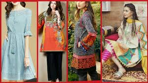 Latest Stitching Design Casual Wear Comfortable Outfit Stitching Designs 2019 Latest Branded Kurti Style Ideas