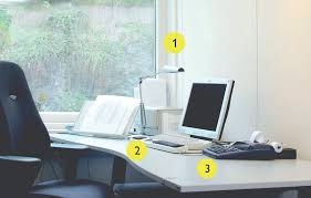 overhead office lighting. 91% Of Computer Users Suffer From Eyestrain. Non-adjustable Overhead Lighting Creates Distracting Glare And Reflections. Age Impacts Light Needed For Job Office
