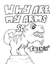 Inappropriate Coloring Pages Inappropriate Coloring Pages Dinosaur