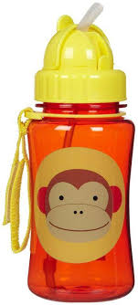 Детский <b>поильник</b> с трубочкой <b>Skip Hop Zoo Straw</b> Bottle monkey ...