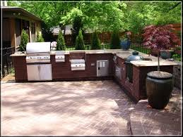 Outside Kitchen Outdoor Kitchen Designs Howtospecialist How To Build Step With