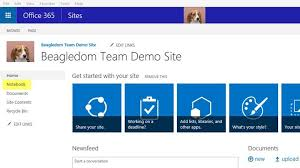 Sharepoint Team Site Template Office 365 Sharepoint Sites And Small Business The