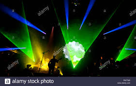 Brit Floyd Light Show Pink Floyd In Concert In Stock Photos Pink Floyd In