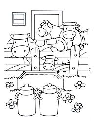 A Imprimer Chats 5 Coloriage Sur La Ferme Tracteurs Fermier