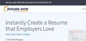Resume Now Reviews 1 652 Reviews Of Resume Now Com Sitejabber