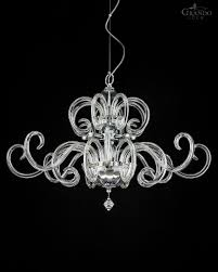 119 sg chrome modern crystal chandelier with crystal swarovski elements grandoluce