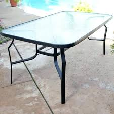 glass top patio furniture glass table top replacement home depot awesome glass patio table top replacement