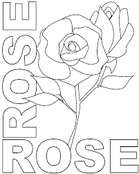 Small Picture Flower Coloring Pages With Names Coloring Pages